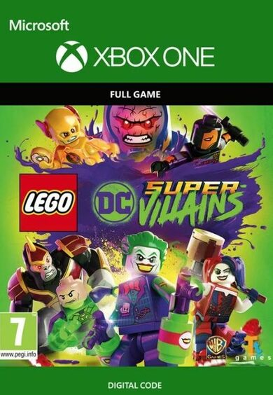 LEGO DC Super-Villains (Xbox One) Xbox Live Key EUROPE