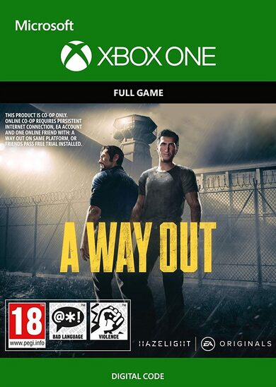 A Way Out (Xbox One) Xbox Live Key UNITED STATES
