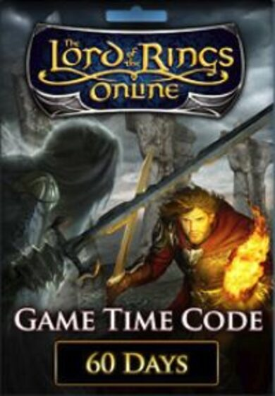 The Lord of the Rings Online 60 Days Prepaid Game Time Card Key GLOBAL
