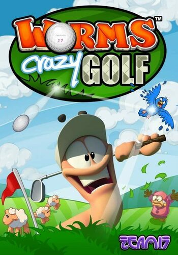 Worms Crazy Golf Steam Key GLOBAL