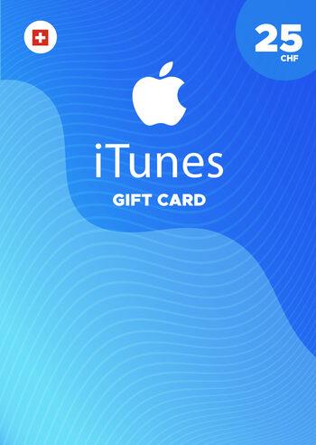 Apple iTunes Gift Card 25 CHF iTunes Key SWITZERLAND