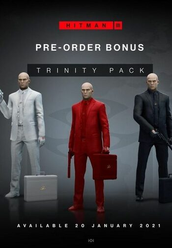 HITMAN 3 - Trinity Pack Pre-order Bonus (DLC) Epic Games Key GLOBAL