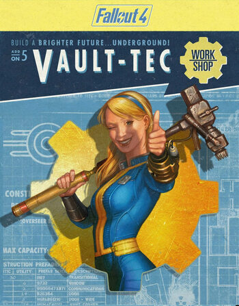 Fallout 4 - Vault-Tec Workshop (DLC) Steam Key GLOBAL