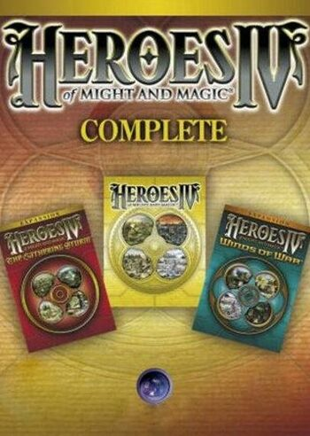 Heroes of Might & Magic IV Complete Edition Uplay Key GLOBAL