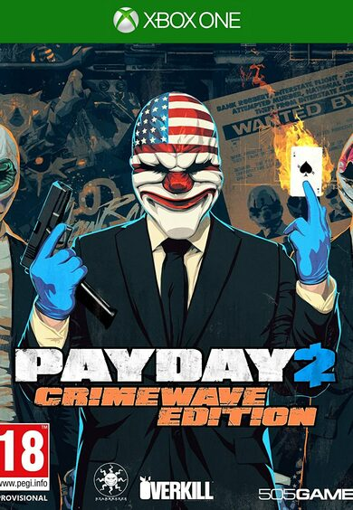 Payday 2: Crimewave Edition (Xbox One) Xbox Live Key UNITED STATES