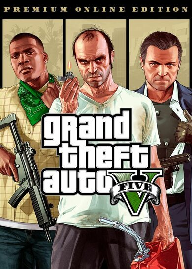 Grand Theft Auto V (GTA V) : Premium Online Edition, clé Rockstar Games GLOBAL