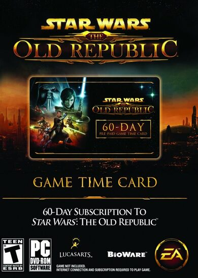 Star Wars: The Old Republic - 60 Day Pre-paid Time Card Key GLOBAL