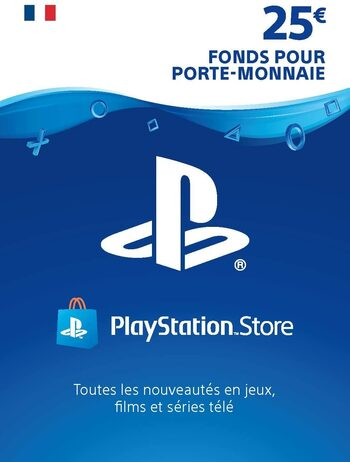 Carte PlayStation Network 25 EUR (FR) Carte PSN FRANCE