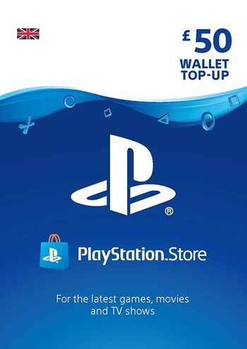 PlayStation Network Card 50 GBP (UK) PSN Key UNITED KINGDOM