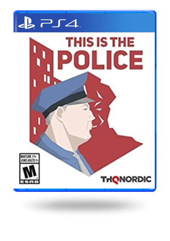 This is the Police PlayStation 4
