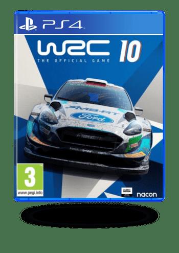 WRC 10 FIA World Rally Championship PlayStation 4