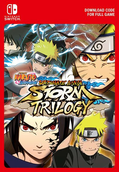 NARUTO SHIPPUDEN: UNS Trilogy Nintendo Switch Key EUROPE