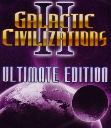 Galactic Civilizations II (Ultimate Edition) Steam Key GLOBAL
