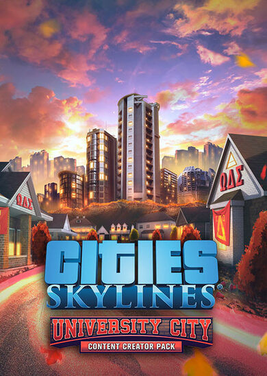 Cities: Skylines - Content Creator Pack: University City (DLC) Steam Key GLOBAL фото