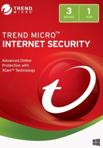 Trend Micro Internet Security 3 Devices 1 Year Key GLOBAL