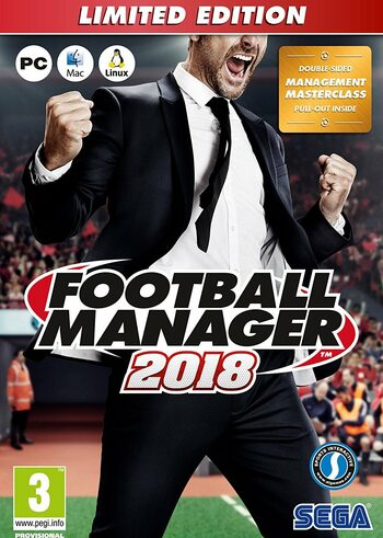 Football Manager 2018 (Limited Edition) Steam Key EUROPE