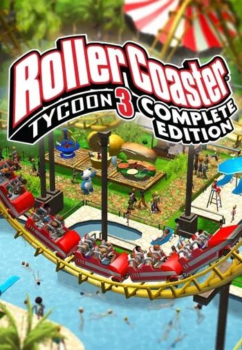 RollerCoaster Tycoon 3: Complete Edition Steam Key GLOBAL