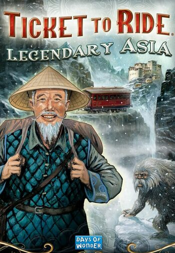 Ticket to Ride - Legendary Asia (DLC) Steam Key GLOBAL