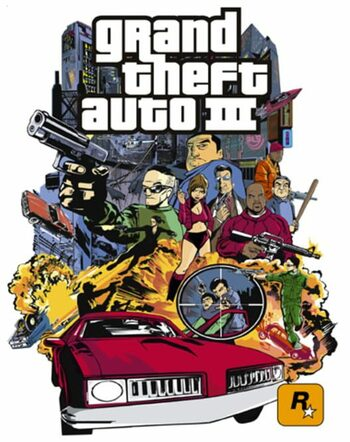 Grand Theft Auto 3 Steam Key GLOBAL