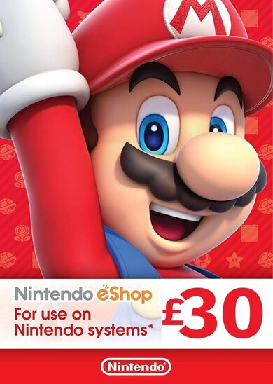 Nintendo eShop Card 30 GBP Key UNITED KINGDOM