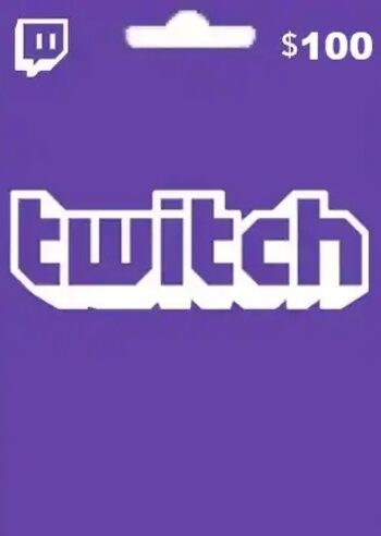 $100 Twitch Gift Card
