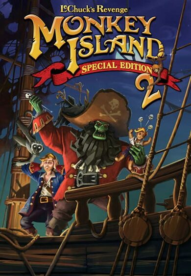 Monkey Island 2 Special Edition: LeChuck's Revenge Steam Key GLOBAL