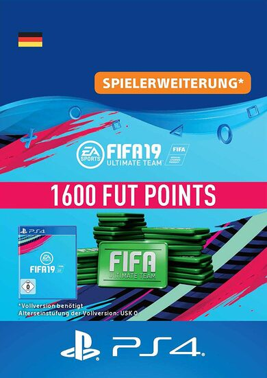 FIFA 19 - 1600 FUT Points (PS4) PSN Key GERMANY