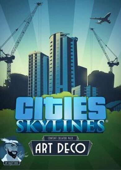 Cities: Skylines - Content Creator Pack: Art Deco (DLC) Steam Key GLOBAL