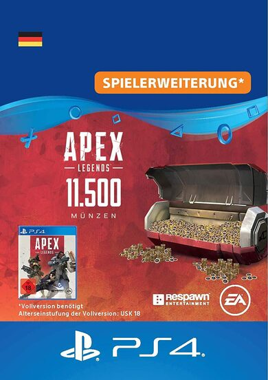 Apex Legends 11500 Apex Coins (PS4) PSN Key GERMANY