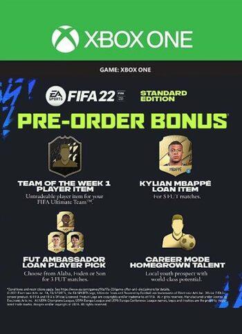 FIFA 22 (Standard Edition) Pre-order Bonus (DLC) (Xbox One) XBOX LIVE Key GLOBAL