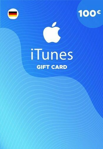Apple iTunes Gift Card 100 EUR iTunes Key GERMANY
