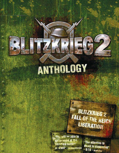 Blitzkrieg 2 Anthology Steam Key GLOBAL