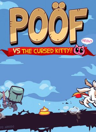 Poof vs the cursed kitty Steam Key EUROPE