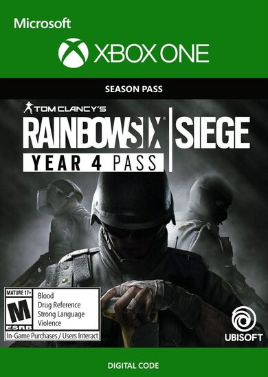 Tom Clancy's Rainbow Six Siege - Year 4 Pass (DLC) (Xbox One) Xbox Live Key GLOBAL