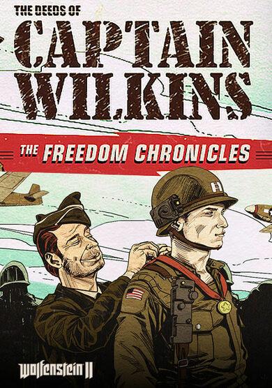 Wolfenstein II - The Deeds of Captain Wilkins (DLC) cut Steam Key EUROPE