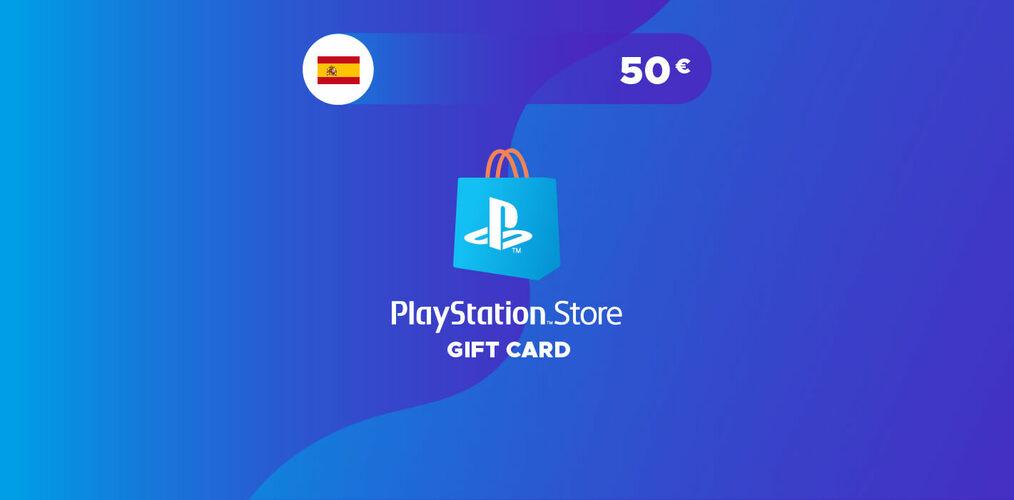 Tarjeta Playstation Network 50 EUR (ES) código PSN España