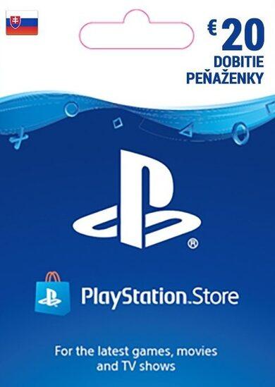 PlayStation Network Card 20 EUR (SK) PSN Key SLOVAKIA