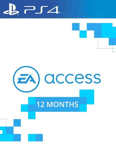 EA Access Pass Code 12 months (PS4) PSN Key UNITED STATES