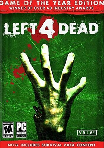 Left 4 Dead (GOTY) Steam Key GLOBAL