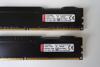 Kingston HyperX Fury Black 16 GB (2 x 8 GB) DDR3-1866 Black / Silver PC RAM