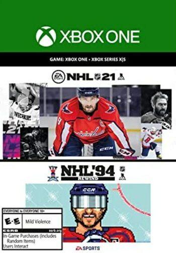 NHL 21: Rewind Bundle XBOX LIVE Key UNITED STATES