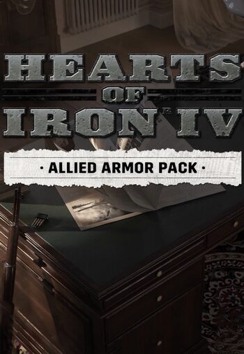 Hearts of Iron IV: Allied Armor Pack (DLC) Steam Key GLOBAL