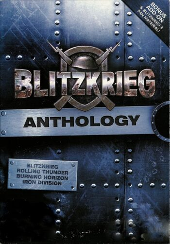 Blitzkrieg + Blitzkrieg 2 Anthology Steam Key GLOBAL