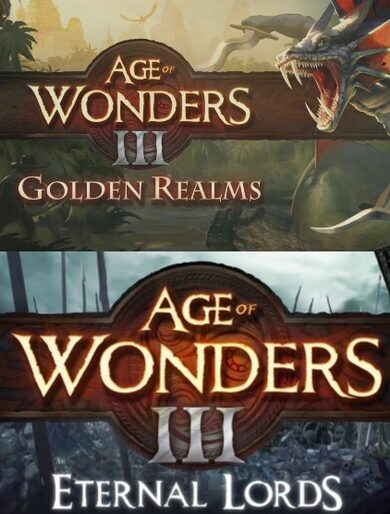 Age of Wonders III - Eternal Lords Expansion + Golden Realms Expansion Pack (DLC) Steam Key GLOBAL