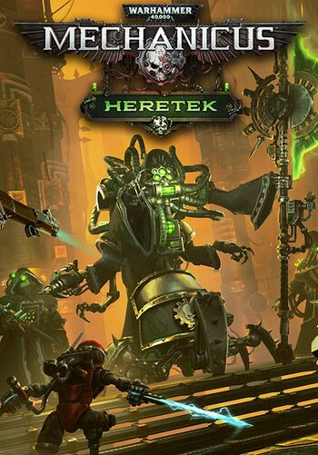 Warhammer 40,000: Mechanicus - Heretek (DLC) Steam Key GLOBAL