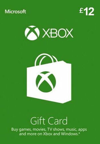 Xbox Live Gift Card 12 GBP Xbox Live Key UNITED KINGDOM