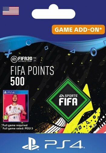 FIFA 20 - 500 FUT Points (PS4) PSN Key UNITED STATES