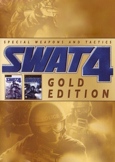 SWAT 4 (Gold Edition) Gog.com Key GLOBAL