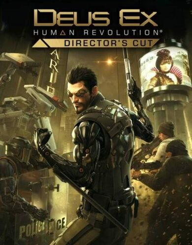 Deus Ex: Human Revolution (Augmented Edition) Steam Key GLOBAL