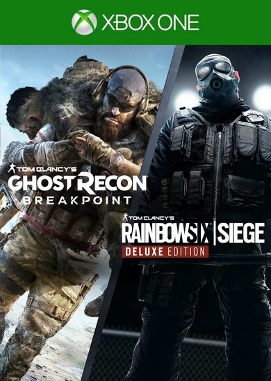 Tom Clancy's Rainbow Six: Siege and Tom Clancy's Ghost Recon: Breakpoint Bundle (Xbox One) Xbox Live Key UNITED STATES